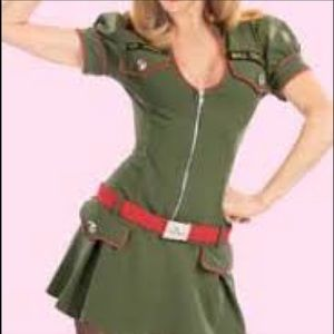 MAJOR trouble trashy lingerie original costume, S